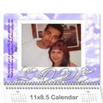 moms calendar - Wall Calendar 11  x 8.5  (12-Months)