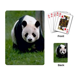 Giant Panda Playing Cards Single Design by photogiftanimaldesigns
