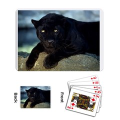 Black Panther Playing Cards Single Design by photogiftanimaldesigns