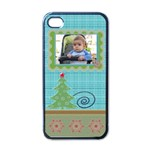 Christmas iphone 4 case - Apple iPhone 4 Case (Black)