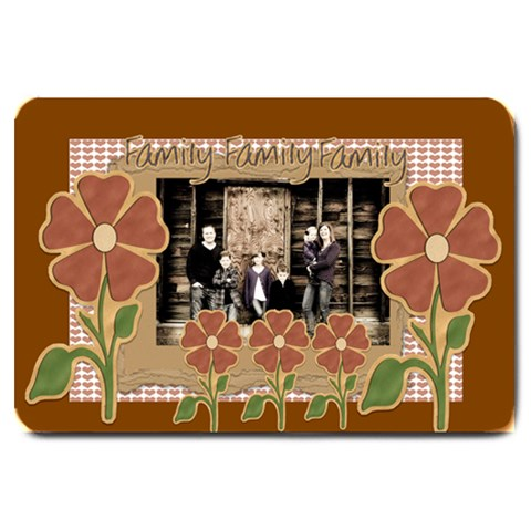 Family Door Mat By Danielle Christiansen   Large Doormat   Uf8oxtp1joxa   Www Artscow Com 30 x20  Door Mat