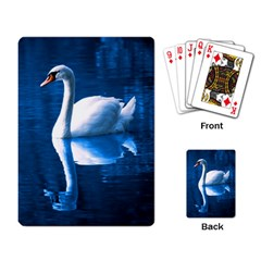 Swan Playing Cards Single Design by photogiftanimaldesigns