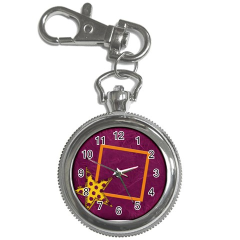 Abc Jump Keychain Watch 1 By Lisa Minor   Key Chain Watch   V1g1yifmiv6y   Www Artscow Com Front