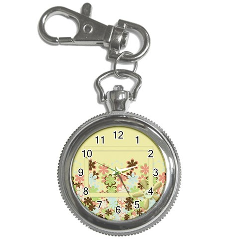Spring Blossoms Key Chain Watch 1 By Lisa Minor   Key Chain Watch   L9n2jdvzvg0e   Www Artscow Com Front