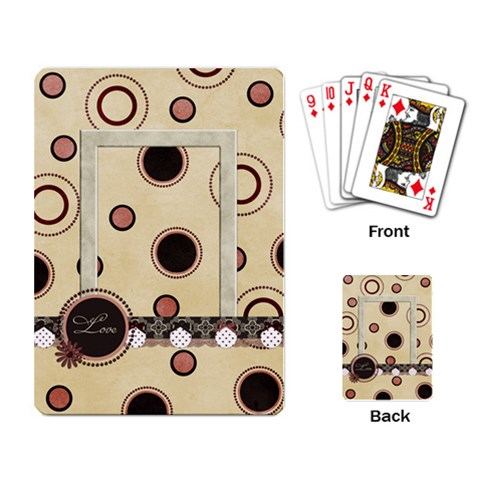 You ve Stolen My Heart Playing Cards 1 By Lisa Minor   Playing Cards Single Design   Nno7wjk0w71c   Www Artscow Com Back