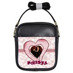 heart sling bag - Girls Sling Bag