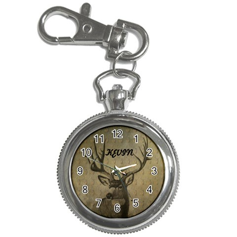Buck Watch By Danielle Christiansen   Key Chain Watch   Uq2caded6e1q   Www Artscow Com Front