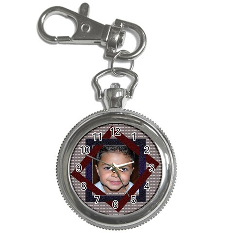 All Boy Clock Chain By Danielle Christiansen   Key Chain Watch   Oauwauwc3z4v   Www Artscow Com Front