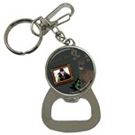 mountain man bottle opener key chain
