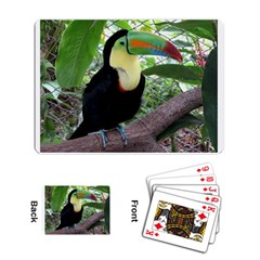 Toucan Playing Cards Single Design by photogiftanimaldesigns