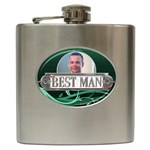 Best Man Hip Flask - Hip Flask (6 oz)