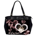 All of my Heart Oversized Office Bag - Oversize Office Handbag (2 Sides)