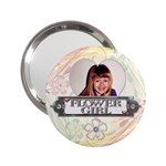 Flower Girl Handbag Mirror - 2.25  Handbag Mirror