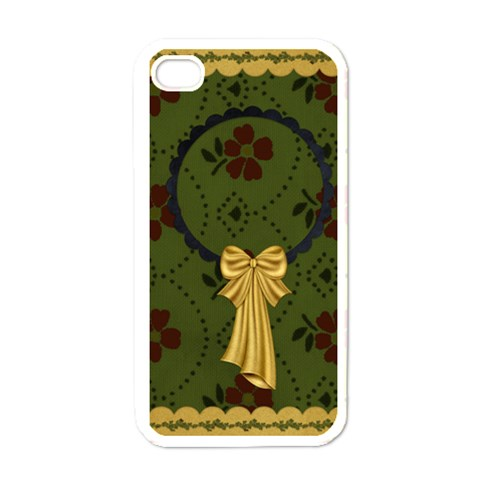 Gypsy Fall Iphone Case 1 By Lisa Minor   Apple Iphone 4 Case (white)   Jygug3f54h07   Www Artscow Com Front