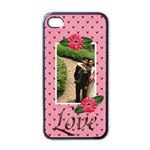 iPhone 4 Case - LOVE - Apple iPhone 4 Case (Black)