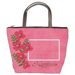 Bucket Bag  Happiness By Jennyl   Bucket Bag   M5ihxklng88t   Www Artscow Com Front