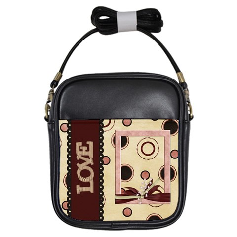 You ve Stolen My Heart Sling Bag 1 By Lisa Minor   Girls Sling Bag   Bvh3nqknw966   Www Artscow Com Front