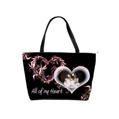 All Of My Heart Classic Shoulder Bag By Catvinnat   Classic Shoulder Handbag   K0blb4b9t6ze   Www Artscow Com Front