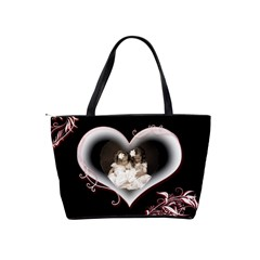All Of My Heart Classic Shoulder Bag By Catvinnat   Classic Shoulder Handbag   K0blb4b9t6ze   Www Artscow Com Back