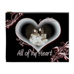 All of my Heart Extra Large Cosmetic Bag - Cosmetic Bag (XL)