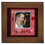 My Valentine Framed Tile