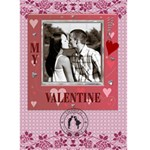 My Valentine 5x7 Card - Greeting Card 5  x 7