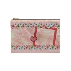 Amore Medium Cosmetic Bag 1 By Lisa Minor   Cosmetic Bag (medium)   Ef8bslrofhjz   Www Artscow Com Front