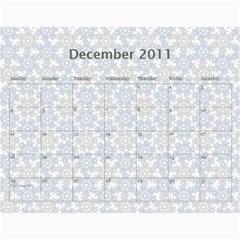 Calender 2011 By Naomi   Wall Calendar 11  X 8 5  (12 Months)   Guekmk7dvbmm   Www Artscow Com Dec 2011