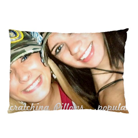 Roomie By Katherine Coleman   Pillow Case   1s94uvd1iaxa   Www Artscow Com 26.62 x18.9 Pillow Case