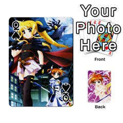 Queen Nanoha Dek By Linysia   Playing Cards 54 Designs   Ydqqdoykqi6z   Www Artscow Com Front - SpadeQ