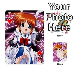 Nanoha Dek By Linysia   Playing Cards 54 Designs   Ydqqdoykqi6z   Www Artscow Com Front - Heart3