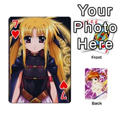 Nanoha Dek By Linysia   Playing Cards 54 Designs   Ydqqdoykqi6z   Www Artscow Com Front - Heart7