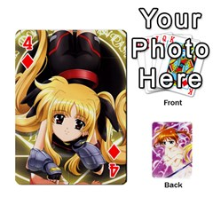 Nanoha Dek By Linysia   Playing Cards 54 Designs   Ydqqdoykqi6z   Www Artscow Com Front - Diamond4