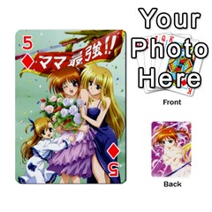 Nanoha Dek By Linysia   Playing Cards 54 Designs   Ydqqdoykqi6z   Www Artscow Com Front - Diamond5