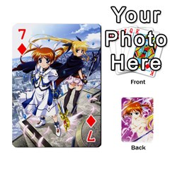 Nanoha Dek By Linysia   Playing Cards 54 Designs   Ydqqdoykqi6z   Www Artscow Com Front - Diamond7