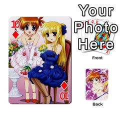 Nanoha Dek By Linysia   Playing Cards 54 Designs   Ydqqdoykqi6z   Www Artscow Com Front - Diamond10