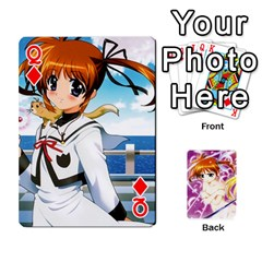Queen Nanoha Dek By Linysia   Playing Cards 54 Designs   Ydqqdoykqi6z   Www Artscow Com Front - DiamondQ