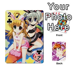Nanoha Dek By Linysia   Playing Cards 54 Designs   Ydqqdoykqi6z   Www Artscow Com Front - Club2