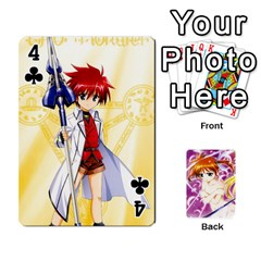 Nanoha Dek By Linysia   Playing Cards 54 Designs   Ydqqdoykqi6z   Www Artscow Com Front - Club4