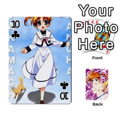 Nanoha Dek By Linysia   Playing Cards 54 Designs   Ydqqdoykqi6z   Www Artscow Com Front - Club10
