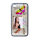 Sexy Apple iPhone 4 Case - Apple iPhone 4 Case (Black)
