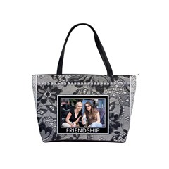 Friendship & Laughter Shoulder Handbag By Lil    Classic Shoulder Handbag   Lvmtvtm6sx57   Www Artscow Com Front