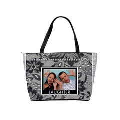 Friendship & Laughter Shoulder Handbag By Lil    Classic Shoulder Handbag   Lvmtvtm6sx57   Www Artscow Com Back