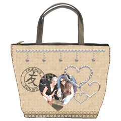 Friends & Family Bucket Bag By Lil    Bucket Bag   Pfs6zbb3ny5c   Www Artscow Com Front