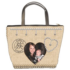 Friends & Family Bucket Bag By Lil    Bucket Bag   Pfs6zbb3ny5c   Www Artscow Com Back