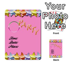 Happy Birthday Card Invitation By Daniela   Multi Purpose Cards (rectangle)   Jl91c16ud2tr   Www Artscow Com Back 1