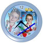 School Clock - Color Wall Clock