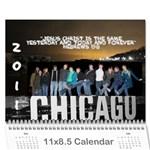 CalendarB - Wall Calendar 11  x 8.5  (12-Months)