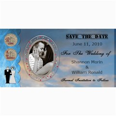 Wedding Save The Date Cards #5 By Lil    4  X 8  Photo Cards   Pi65p4h4z6hg   Www Artscow Com 8 x4 Photo Card - 9