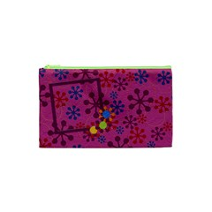 Abc Jump Small Cosmetic Bag By Lisa Minor   Cosmetic Bag (small)   Vmlo3t8xu45u   Www Artscow Com Front